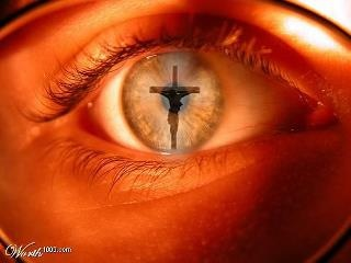 Looking at the Cross: The Lord, Christian, Stay Focus, God Is, Earth, Crosses, Jesus Love, Eye, Jesus Save