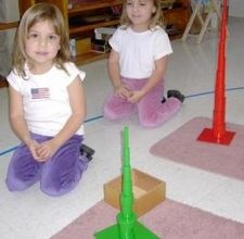 How to teach using Montessori Knobless Cylinders