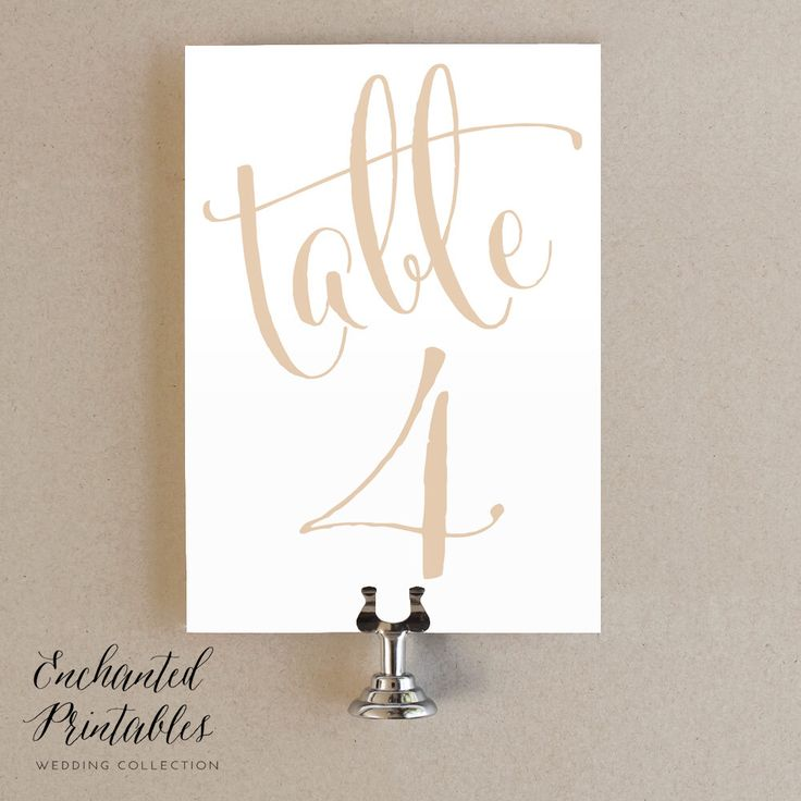 The 25+ best Printable wedding table numbers ideas on Pinterest - numbers templates free