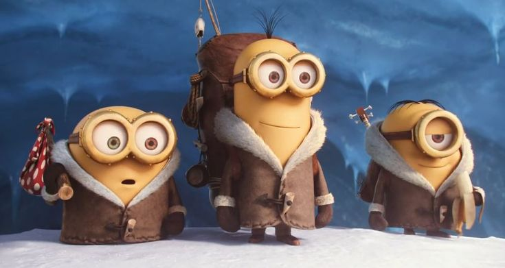 YOUTUBE -- Meet Stuart, Kevin and Bob as they embark on a journey for their new master in the Official Trailer for Minions. In Theaters July 10, 2015 From the YouTube video description: The story o...