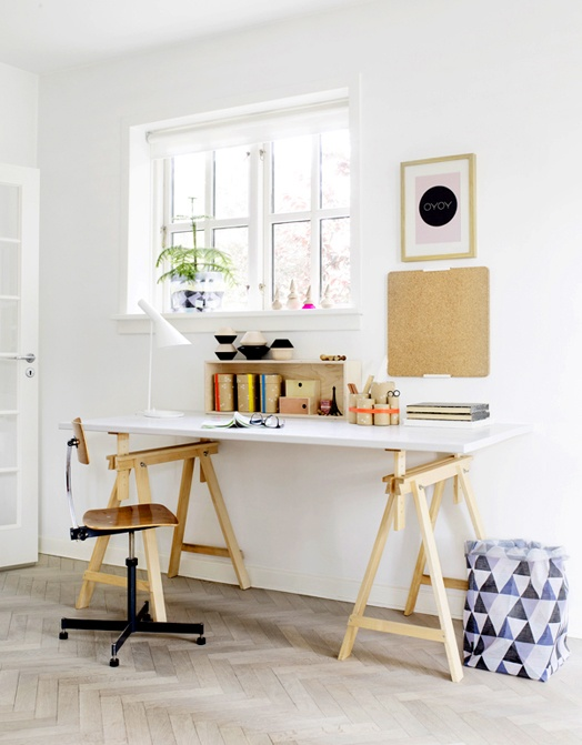 work space: Living Design, Offices Spaces, Interiors Design, Work Spaces, Workspaces, Desks, Home Design, Modern House, Home Offices