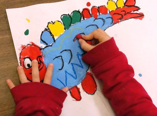 684 best images about holiday art projects for kids on for One fish two fish read aloud