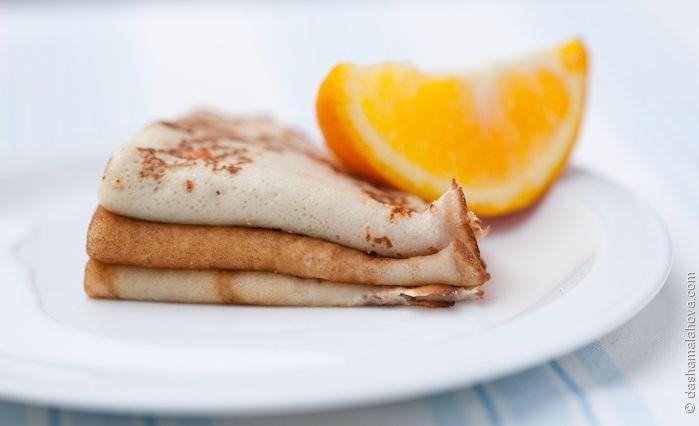 Сегодня на завтрак - Цитрусовые блины на дрожжах. Поэтому, если любите сладкие блины с лимонно-апельсиновой начинкой - это ваш день! #ilovecooking #pancakes #breakfast