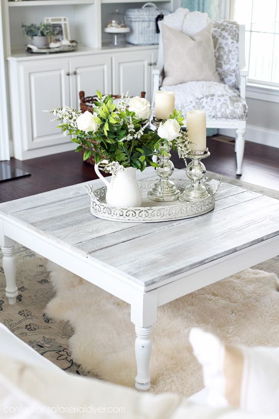 Square Coffee Table Redo