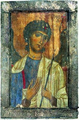 Арх. Михаил. Икона из ц. Спасителя в Мацхвариши. 2-я пол. XIII в Arch. Michail
