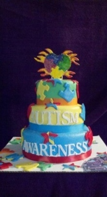 Cake Decorated By Girl With Autism : Autism, Autism awareness and Too cute on Pinterest