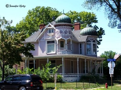 Not a fan of Minnesota, but this house just looks fun.