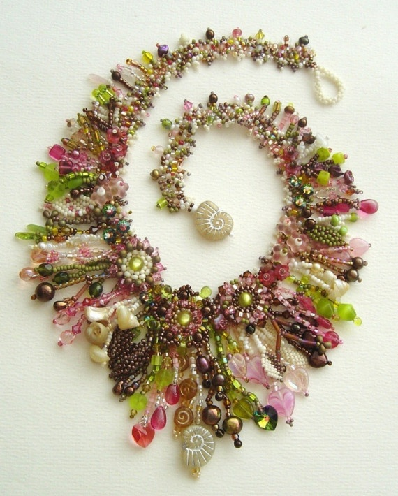 This kind of takes my breath away. But who would wear pieces like this? And how? But... amazing!