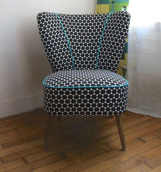 50's cocktail chair