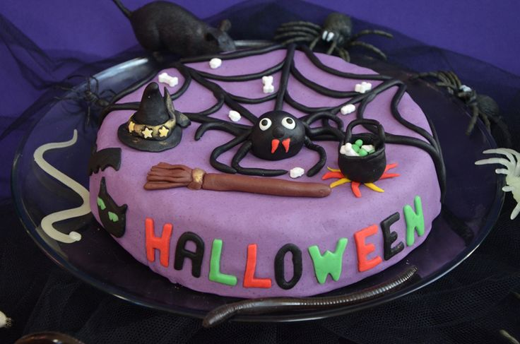 Gâteau d'Halloween aux globules de zombies {avec un soupçon de chocolat quand même !}