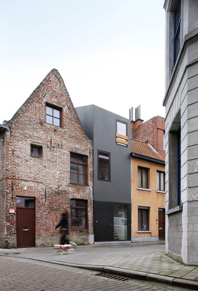 Residence in Ghent, Belgium/ #Dierendonck_blancke_Architecten