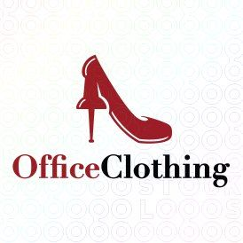 Exclusive Customizable High Heels Logo For Sale: Office Clothing | StockLogos.com