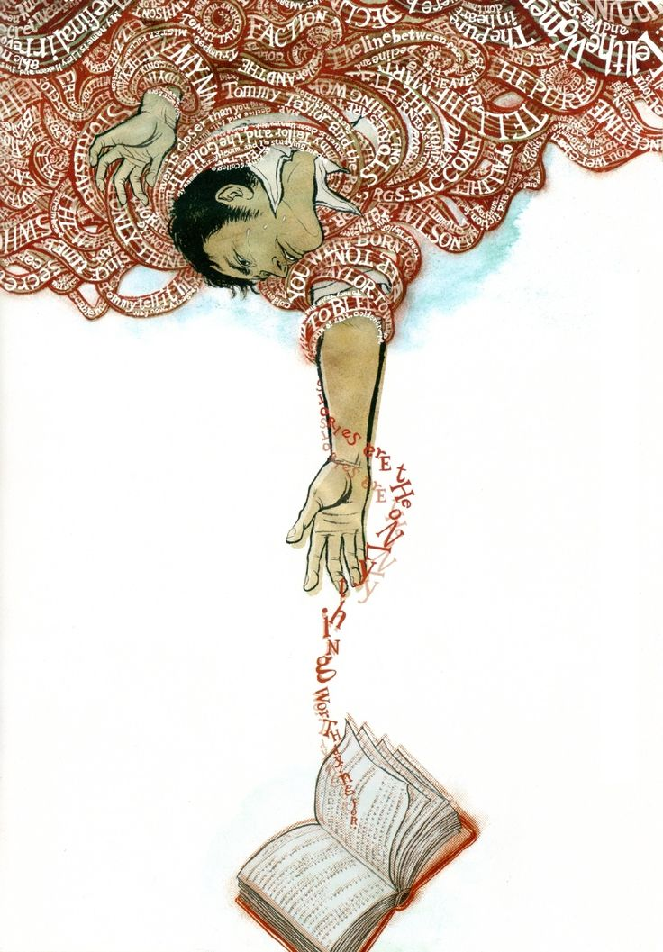 """The Yuko Shimizu Book  This reminds me of the phrase """"sticks and stones will break my bones but words will never hurt me."""""""