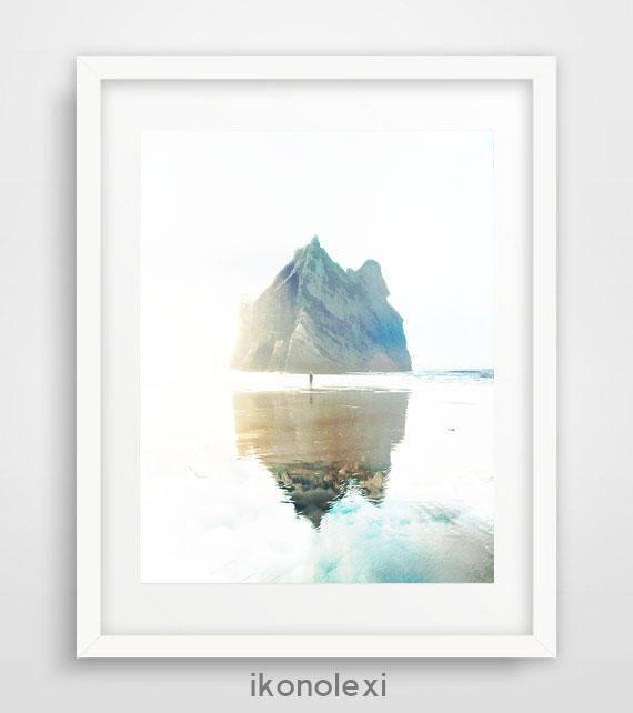 Ocean photography, wall prints, beach wall art, cool posters, ocean art, beach house decor, nautical decor, bathroom wall art, abstract art by Ikonolexi on Etsy