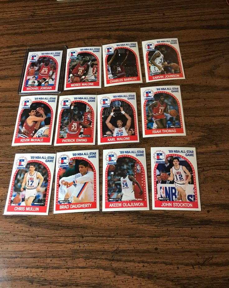 12 cards michael jordan moses malone charles barkley