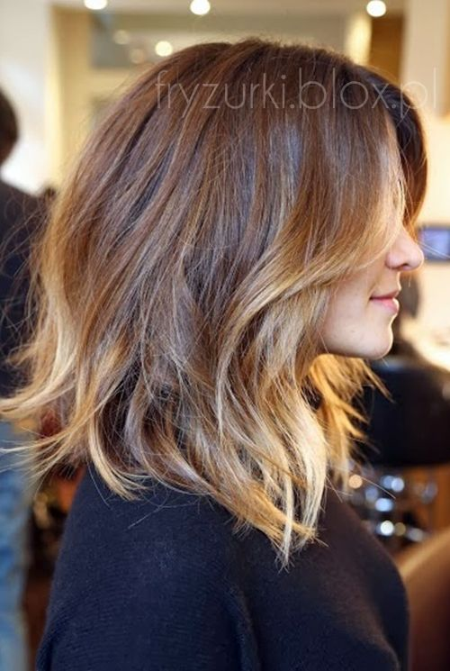 highlights / ombre hair