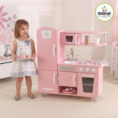 KidKraft Vintage Kitchen, Pink