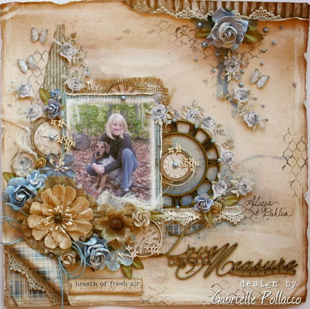 {Maja Design and The Scrapbook Diaries Kit Page & Video Tutorial) - Gabrielle Pollacco