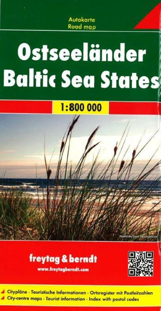 Buy map: Baltic, Sea States by Freytag-Berndt und Artaria – YellowMaps Map Store