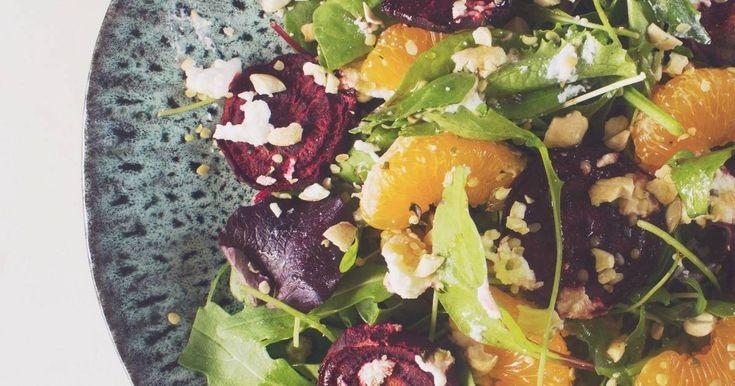 Ensalada de remolacha asada y mandarina Receta de Thelma Torres - Cookpad