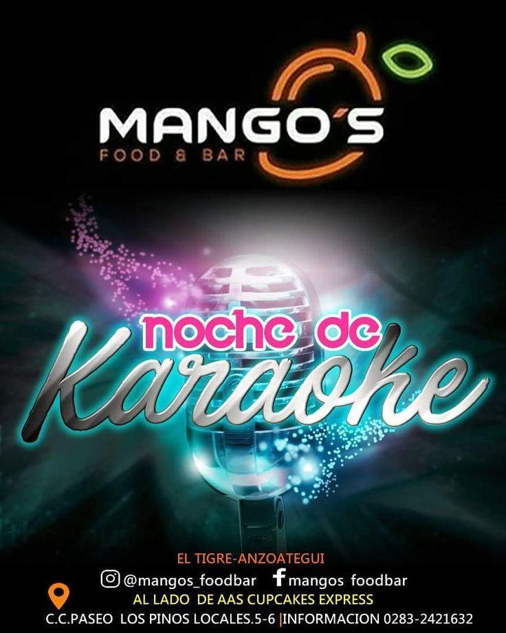 Hoy es #jueves de #karaoke en @mangos_foodbar #musica #party #fiesta #bar