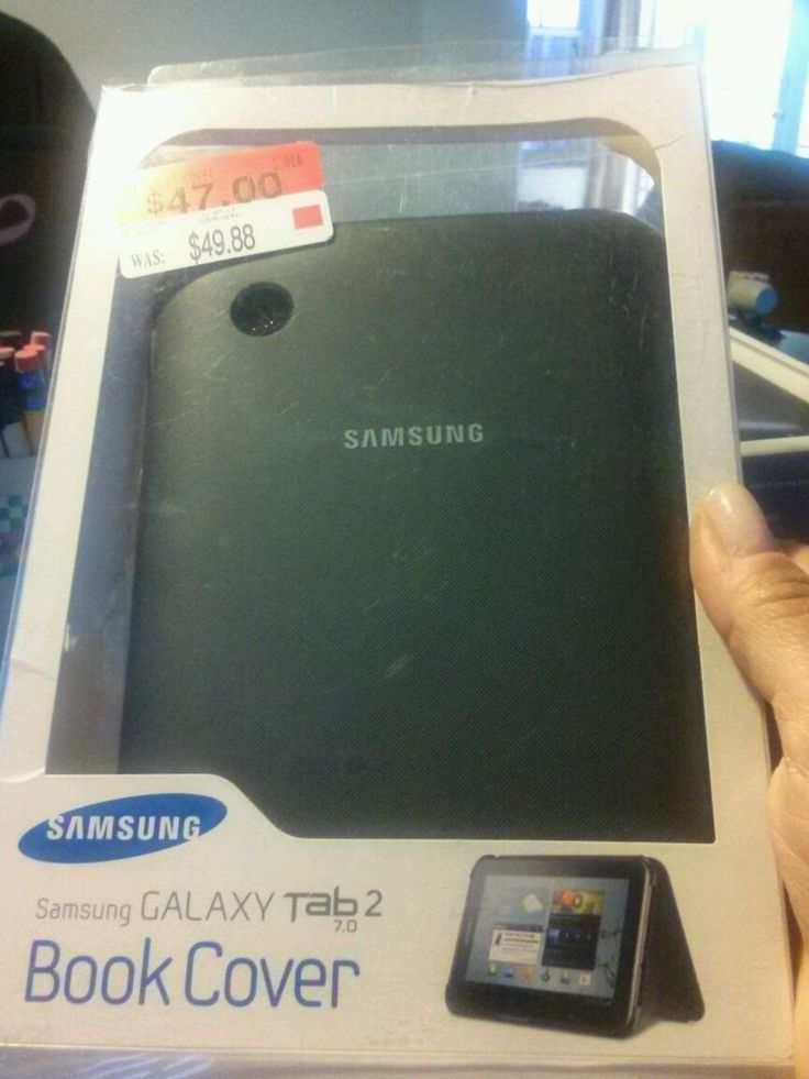 samsung galaxy tab2 7.0 book cover black #Samsung