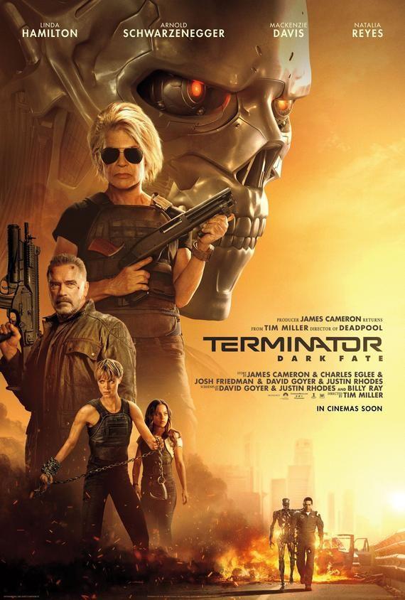 Terminator Dark Fate Movie Poster Glossy Print Photo Wall Art Linda Hamilton Arnold Schwarzenegger Size 8x10 11x17 16x20 22x28 24x36 27x40 2 Fate Movie Terminator Free Movies Online