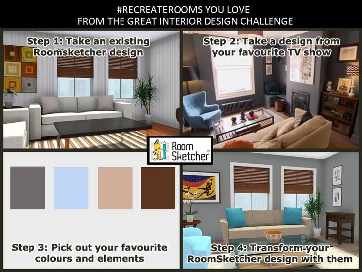 Inspired By BBCTwos The Great Interior Design Challenge Use Your Favorite GIDC Room