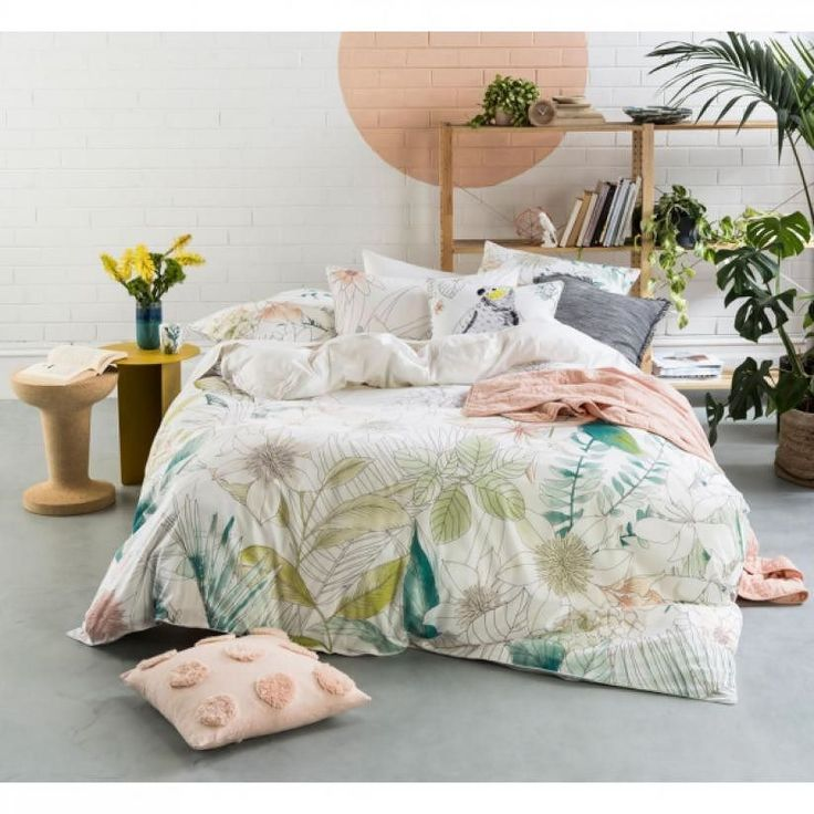 I'm in love with this Kakadu Quilt Cover Set by Linen House. Like this post if you like too.  #manchesterfactory #marrickville #sydney #bedlinen #bedding #homeware #interior #homeinterior #decor #homedecor #linen #manchester #homewares #interiordesign #homestyle #homedesign #interiorinspiration #styling #interiors #homestyling #designer #instahome #interiorinspo #textiledesign #homeinspiration