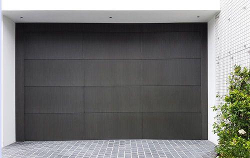Doric Garage Door Anthra Zinc Metal Garage Door In 2019 Garage