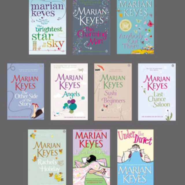 Anything by Marian Keyes