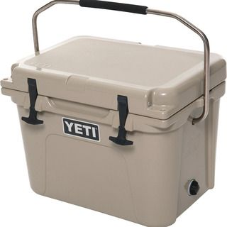 Small but mighty, the YETI Roadie is the best personal cooler you'll ever find to protect your lunch from the ravages of sandwich-soggifying, drink-sweating heat. Roadie 20 Cooler #YETICoolers at RockCreek.com