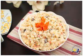 Pinay In Texas Cooking Corner: Filipino Style Chicken Macaroni Salad