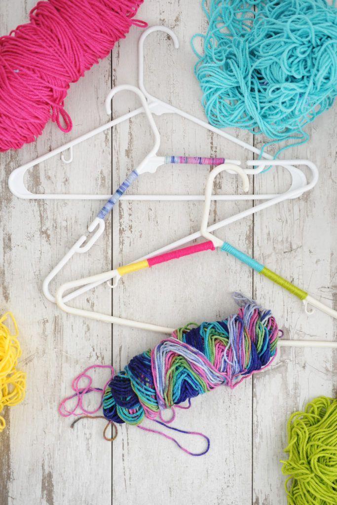 DIY Organization Ideas : DIY Non-Slip Hangers for your closet