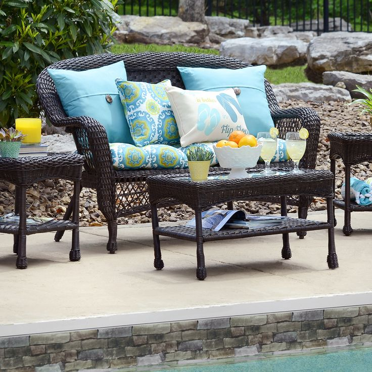 Invite Your Friends And Family Over For A Summer Party And Show Off Your New Outdoor Decor From Kirkland S Refresh Your Furniture Cushions Tables