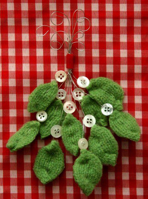 wooly button mistletoe