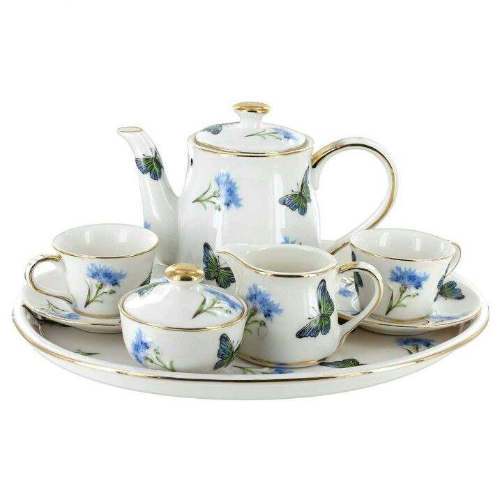 348 Best Images About Miniature Tea Sets On Pinterest