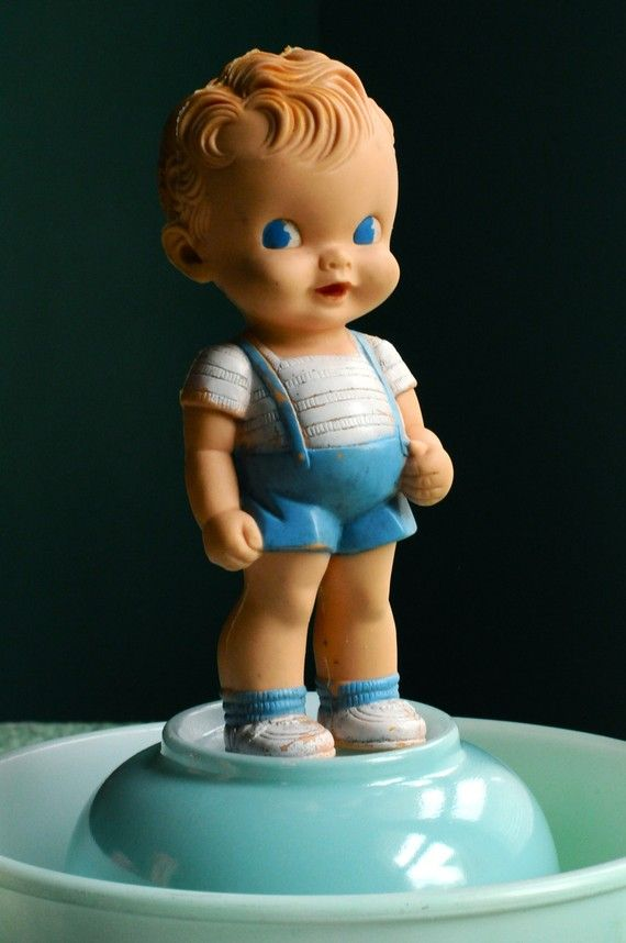 Vintage Rubber Squeaky Baby Toy