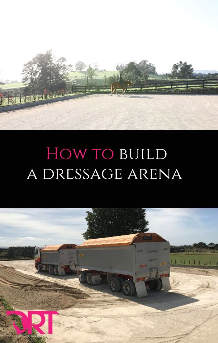 What to consider when building a dressage arena