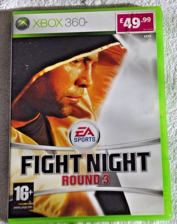 EA SPORTS FIGHT NIGHT ROUND 3   XBOX 360 Video Game