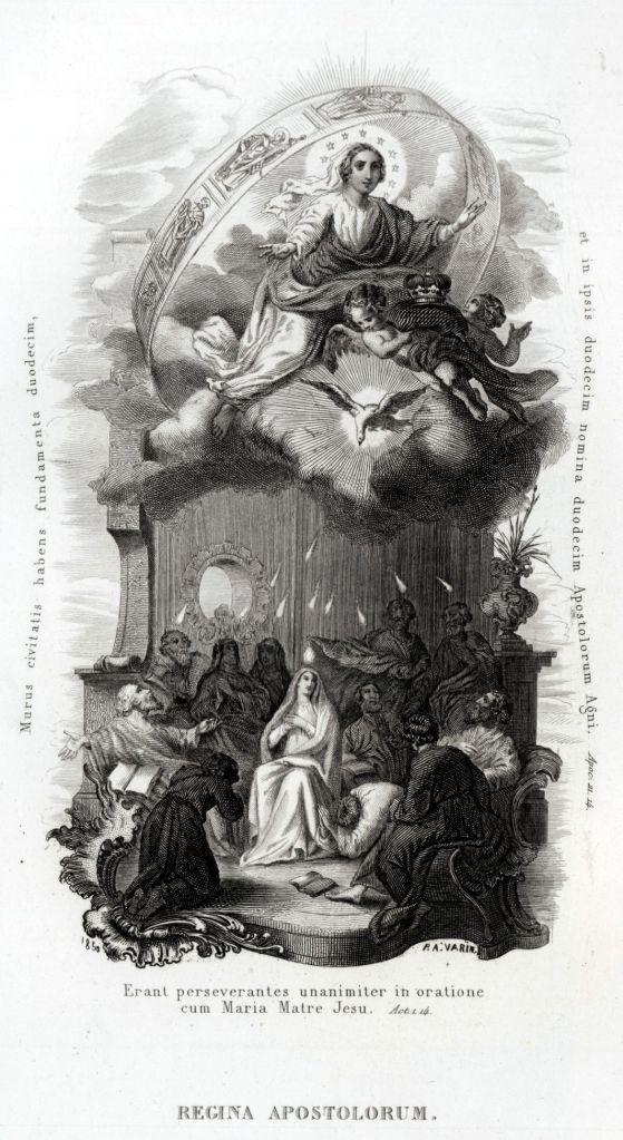 49 Litanie Lauretane SS Vergine Maria Madonna Religione Acciaio Capolavoro 1850 | eBay