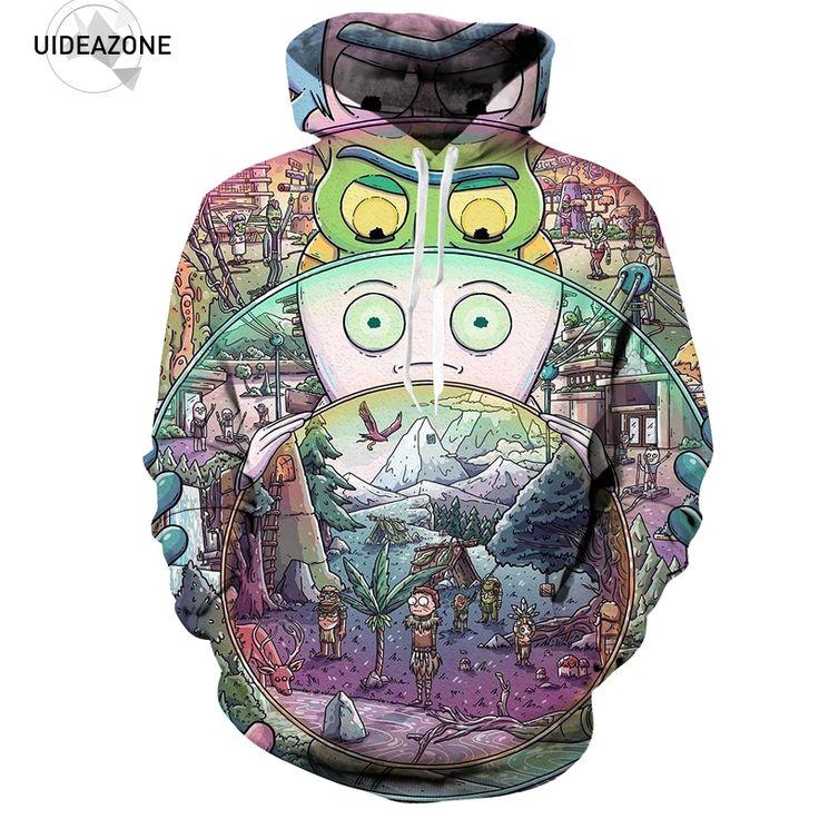 Rick and Morty Men / Women 3D Sweatshirts //Price: $36.45 & FREE Shipping //     #3dfashion