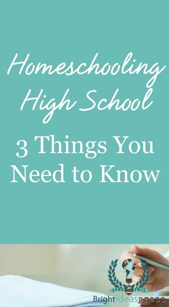 Homeschooling Excessive Faculty: three Issues You Should Know