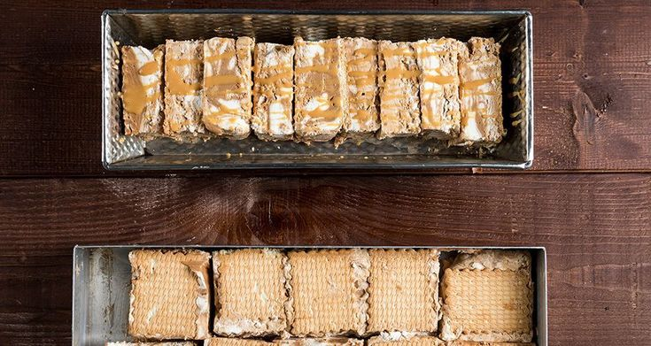 Παγωτό σάντουιτς με καραμέλα σοκολάτα