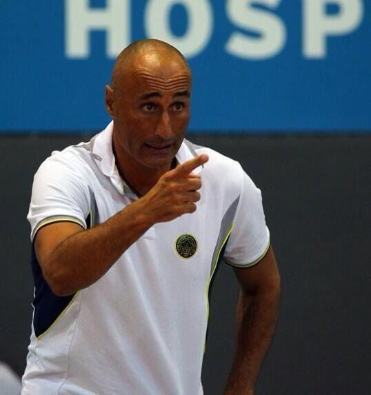 Marcello Abondanza (CEV Kupası'nı kazanan Fenerbahçe Bayan Takımı antrenörü)