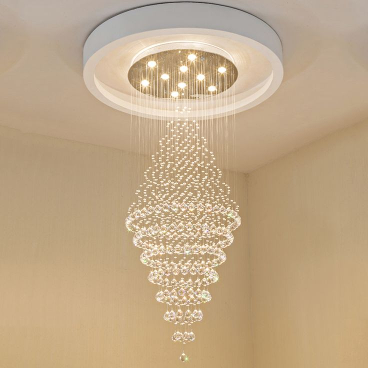 696 best chandeliers images on pinterest ceiling lamps pendant modern led crystal chandeliers lighting fixtures ceiling chandelier lamps hanging lamp with d70cm h180cm vde ul mozeypictures Image collections