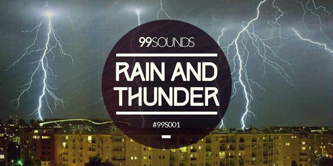 Rain And Thunder - Field Recording Sound Library by 99Sounds | ProducerSpot http://www.producerspot.com/rain-and-thunder-field-recording-sound-library-by-99sounds