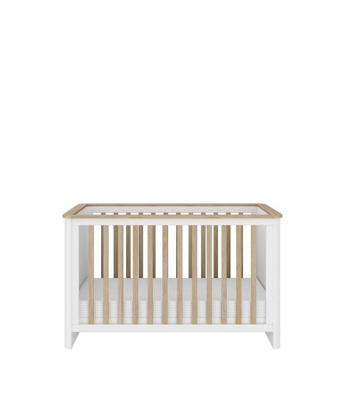Łóżeczko z kolekcji mebli dla dzieci Ruban 60x120