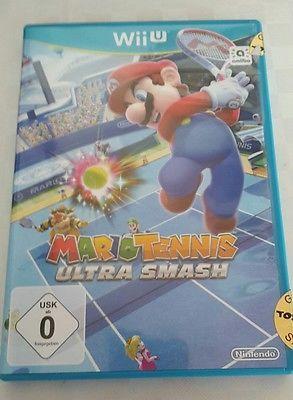 Mario Tennis: Ultra Smash (Nintendo Wii U, 2015, DVD-Box)