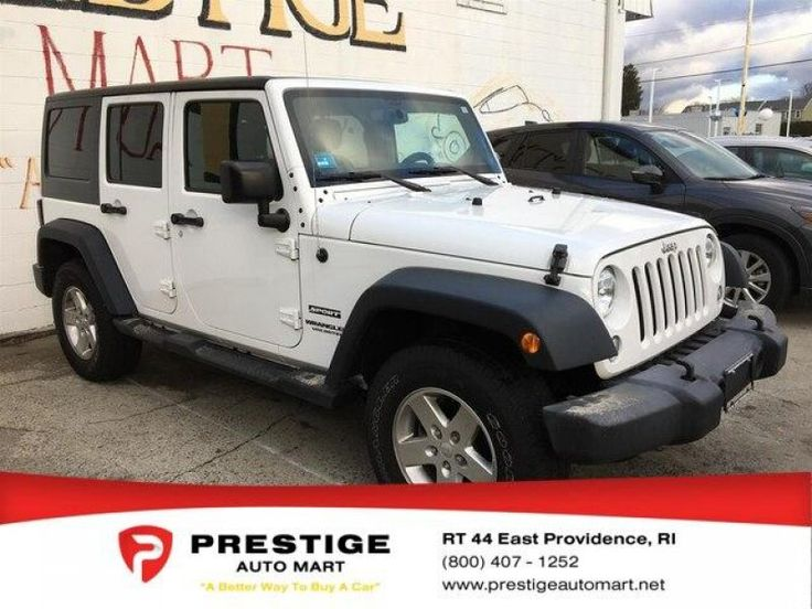 Used 2016 Jeep Wrangler 4WD Unlimited Sport for sale in